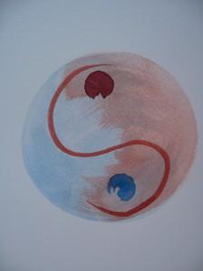 Yin Yang Skizze (Dodo Kresse)