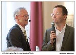 Kurt Völkl und Josef Scheff - LILA Management